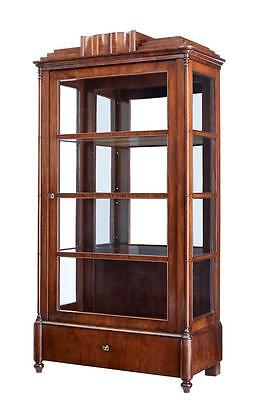 19Th Century Danish Mahogany Display Cabinet