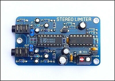 Stereo Limiter With Pre-Emphasis New Mk2 - Fm & Internet Broadcasting