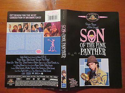 Signed Autographed DVD Cover Son Of The Pink Panther - Roberto Benigni