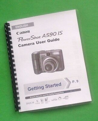 Canon powershot a590is manual pdf.