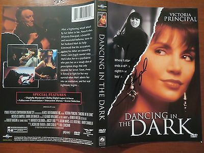 Signed Autographed DVD Cover Dancing In The Dark - Victoria Principal