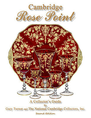 Book: Cambridge Rose Point, A Collector's Guide  (Second Edition)
