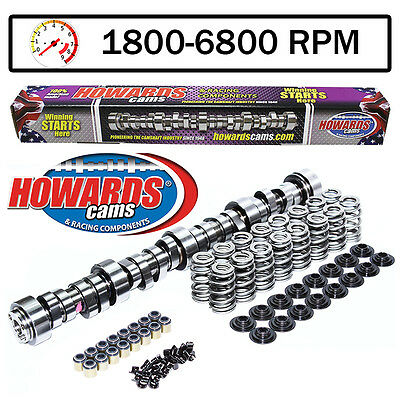 """HOWARD'S GM LS1 Cathedral Port 274/280 609""""/604"""" 115° Cam and Valve Springs Kit"""