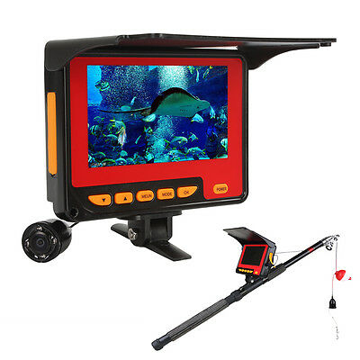4.3 Inch TFT HD 1000TV Lines Underwater Fishing Camera with Record