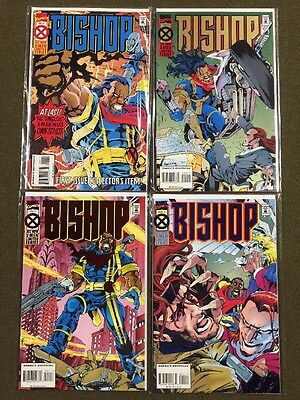 1994 Marvel Comics X-Men Limited Series Comic Books Bishop Issues 1-4