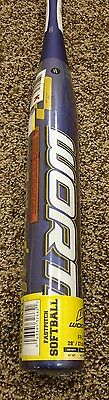 Worth FPLT11 28/17 Amp Youth Fastpitch Softball Bat New With Warranty and Tags