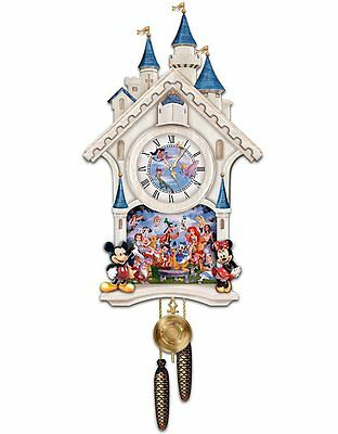 Bradford Exchange - ULTIMATE DISNEY CUCKOO WALL CLOCK