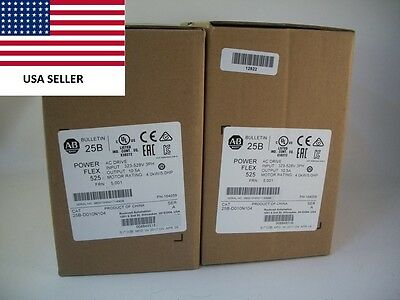 *Ships Today* 2017 Allen Bradley 25B-D010N104 Power Flex 525 Drive New 5HP