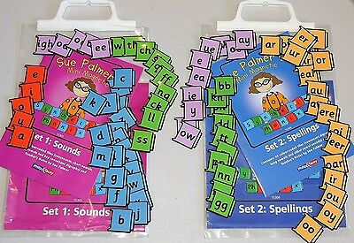 Sue Palmer's Mini Magnetic Synthetic Phonics: Sets 1 & Set 2 Sounds & Spelling