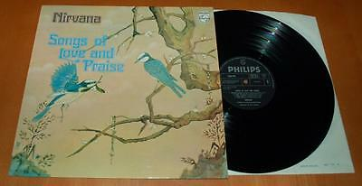Nirvana - Songs Of Love And Praise - 1972 UK Philips 1st Press Vinyl LP