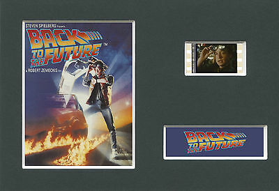 BACK TO THE FUTURE    Mounted 35mm Movie Film Cell Memorabilia