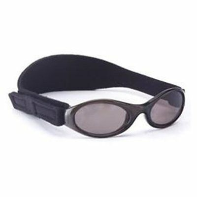 Baby Boys Girls 0-2yr Banz Black Oval Adventurer Sunglasses 100% UVA Protection