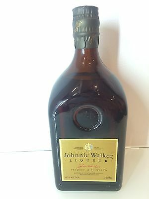 JOHNNIE WALKER 750ml Liqueur Scotch Whisky - Very Rare Bottle To Collect!