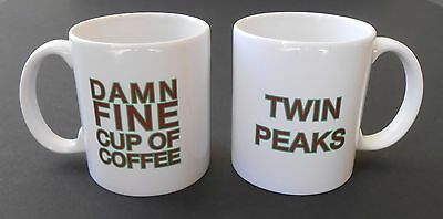Twin Peaks Damn Fine Cup Of Coffee Mug*