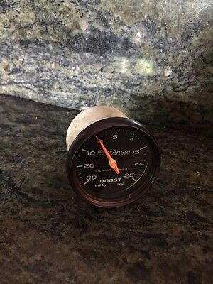 Stewart Warner Maximum Performance Boost Gauge Turbo