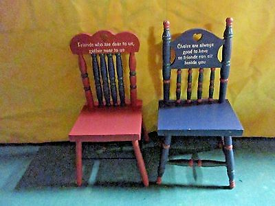 vintage wooden doll chair friendship chairs