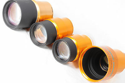 Lot 4 Projection lenses Isco Ultra Star 85mm 80mm & 75mm & HD 50mm 054