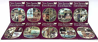 NEW JUNIOR ENCYCLOPEDIA - Complete Set of 18 Hardcover Books [1973] - VGC