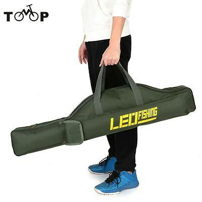 Fishing Bags Fishing Rod Carier Canvas Fishing Pole Storage Bag Case 100cm/150cm