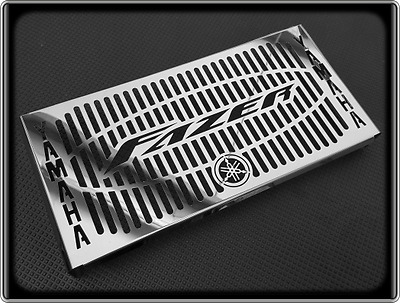 Radiator Grill for YAMAHA FZ6 FAZER 600, 04 to 06 (Polished Cooler Cover Guard)