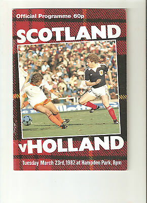 1982  Scotland v Holland