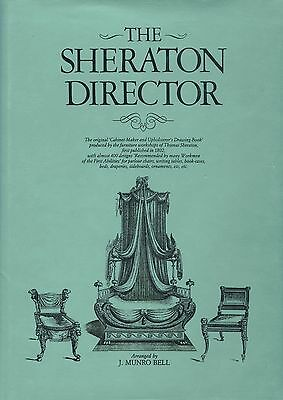 Antique Sheraton Furniture Identification / Book - Design Catalog Reprint