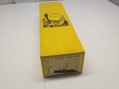 Vintage Model Shipways BOGOTA N.J Harriet Lane 1857 Boat Ship Kit