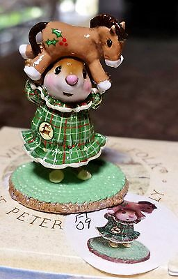 "Wee Forest Folk M-354 ""Striped Tiara"" ""Up On the Rooftop"" FAIRYTALES09 SPECL NEW"
