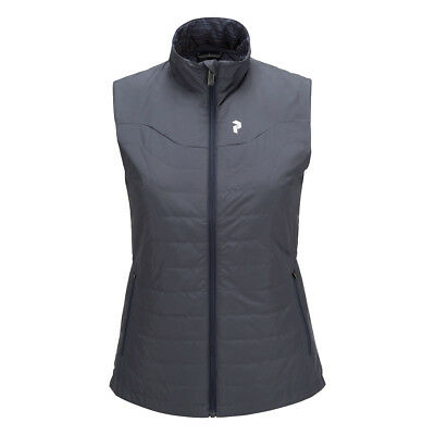 Peak Performance Reversible Gilet with Pinneco® Insulation in Blue