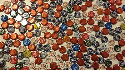 Assorted 500 Used metal beer/drink bottle caps DIY Craft brewery collectables
