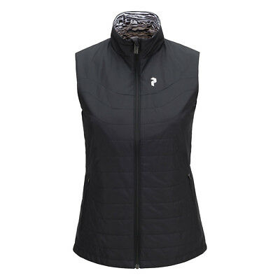 Peak Performance Reversible Gilet with Pinneco® Insulation in Black