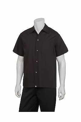 Chef Works Men's Utility Cook Shirt (KCBL)