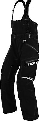 FXR Mens Black Adrenaline XPE Insulated Snowmobile Pants Snocross