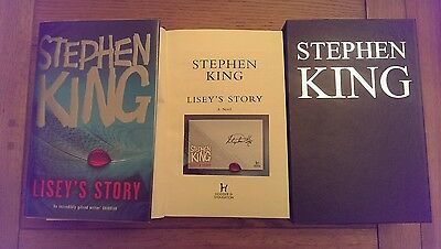 Lisey's Story SIGNED Stephen King UK HB 1st edition 1st Impression slipcased