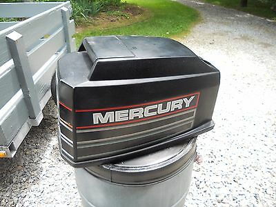 Mercury 60 HP Bigfoot Engine Cowl, Used, Engine Cover