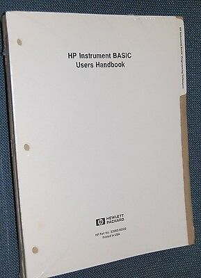 HP Instrument BASIC Users Handbook E2083-90000  §