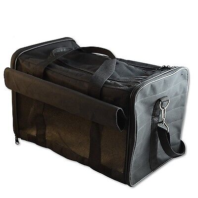 PetsN'all Airline Approved Pet Carrier Soft-Sided Foldable and Comfort Dog Tr...
