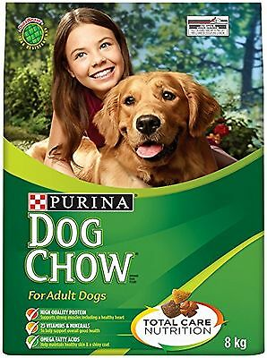 Purina Dog Chow Dog Food for Adult Dogs 8kg Bag