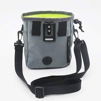 Rapid Rewards Training PouchDog Training Bag Carries Treats and Toys Built-In...