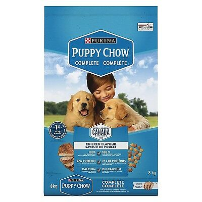 Purina Puppy Chow Puppy Food for All Puppies 8kg Bag