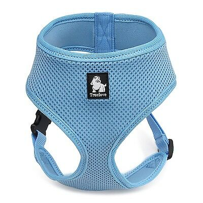 Pettom Soft Mesh Dog Harness No Pull Comfort Padded Vest for Small Pet Cat an...