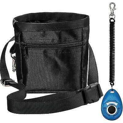 Zacro Dog Treat Training Pouch Bag with Adjustable Strap and One Set of Train...