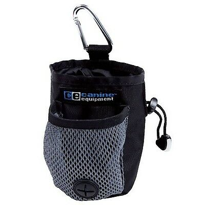 Canine Equipment Carry-All Treat Bags Black