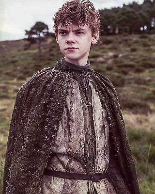 Thomas Sangster - Jojen Reed - Game of Thrones - Signed Autograph REPRINT