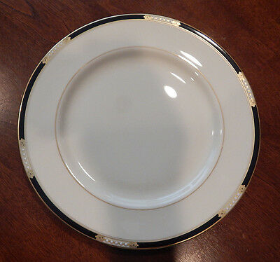 "Lenox ""hancock"" Pattern Dinner Plate (S) 10 3/4"" Made In Usa Excellent!!"