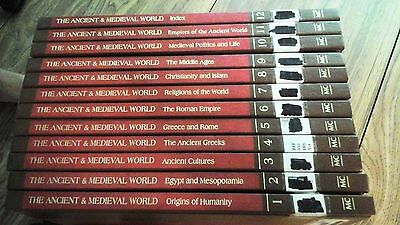 Lot of 12 books: The History of the Ancient & Medieval World vol 1-12