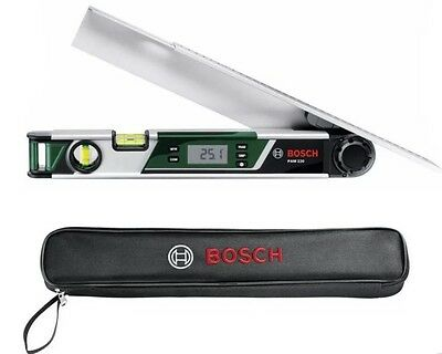 Bosch PAM 220 Digital Angle Measurer and Mitre Finder SAME DAY DISPATCH!!!