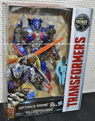 Transformers The Last Knight Voyager Class Premier Edition Figure Optimus Prime