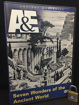 SEVEN WONDERS of the Ancient World A&E History DVD Ancient Wonder Empires