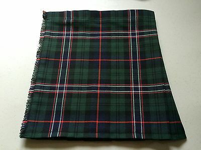 New Scottish National Tartan Baby Kilt 0-3 m - 2-3 y (Waist & Length Sizes Given